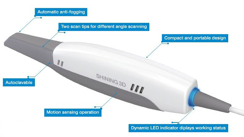 Aurident offers the Aoralscan Intraoral Scanner