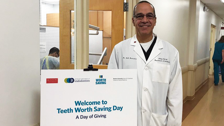 Endodontists from all three Boston dental schools provide donated care to local patients