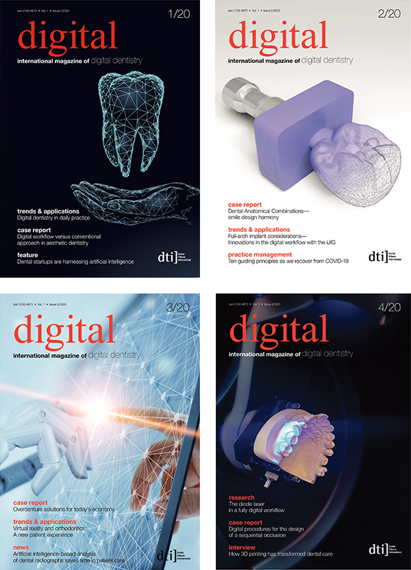digital international Annual Subscription