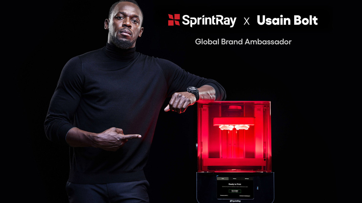 SprintRay teams with Usain Bolt to improve access to care in Jamaica